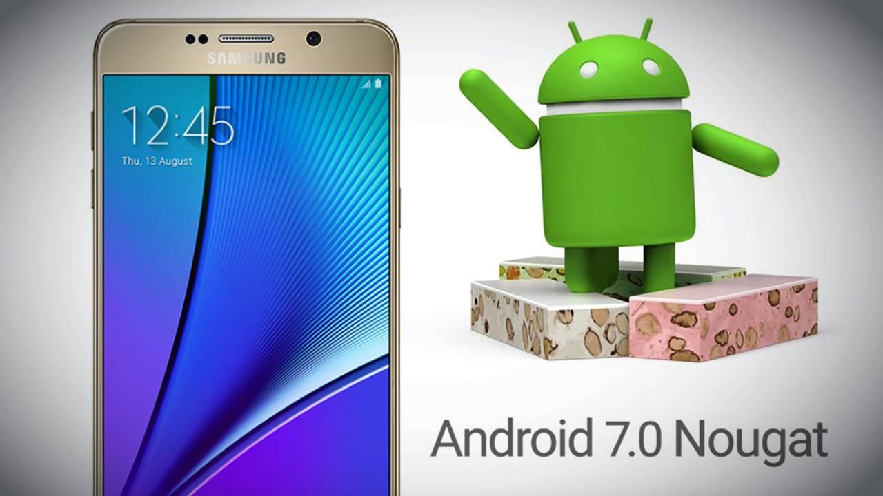 Samsung'dan Nougat 7.1 yılbaşı hediyesi olarak geliyor. 1