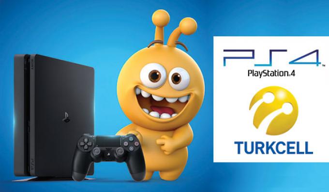 Turkcell'den Süper bir Kampanya Tarife Ek Playstation 4 3