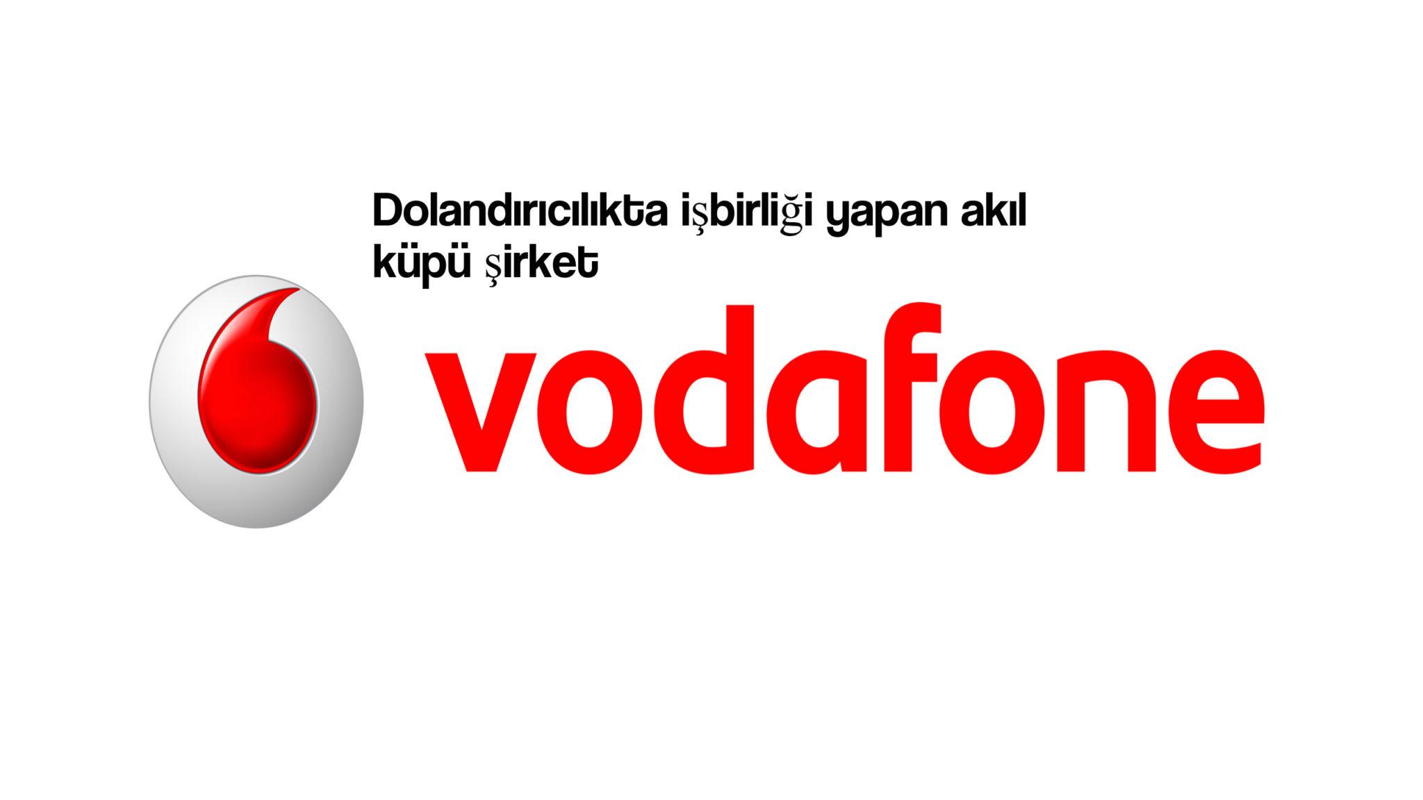 Vodafone Dolandırıcılığı 'Paravan Servisler' 1