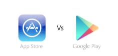 Google Store vs App Store 33