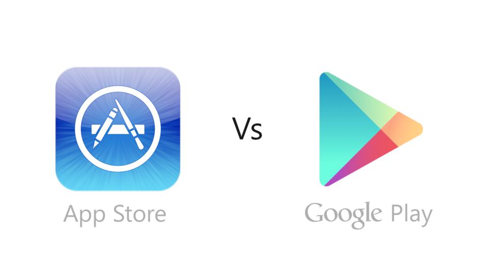 Google Store vs App Store 1