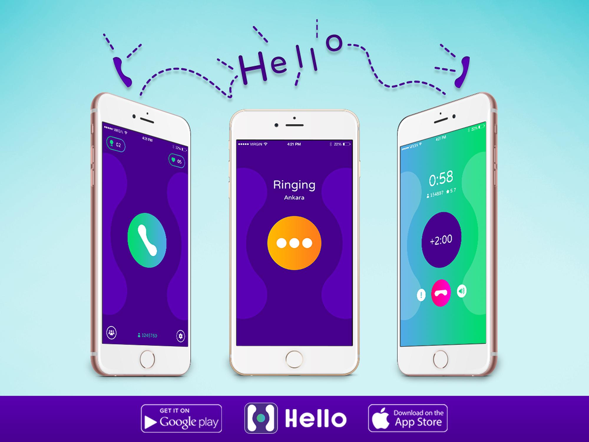 Hello Uygulaması Türkiye'de Kullanımda Artık 3