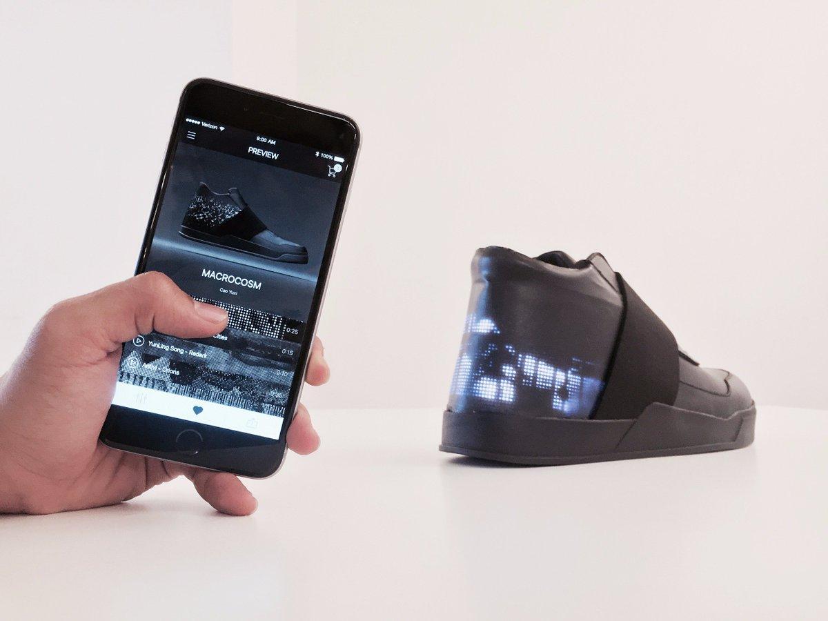 Dünya'nın İlk Akıllı Ayakkabısı Sınırlı Sayıda Üretilecek 1