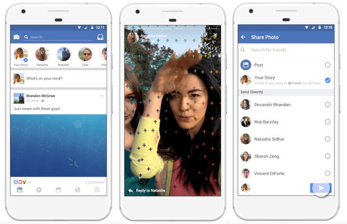 Facebook Hikayeler Özelliği Geliyor 5