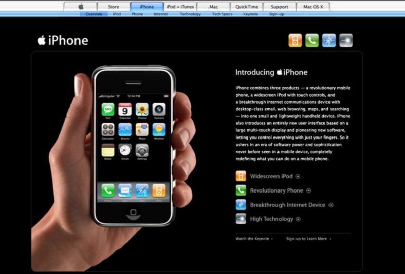 ilk iPhone Nasıl Tanıtılmıştı ? 9