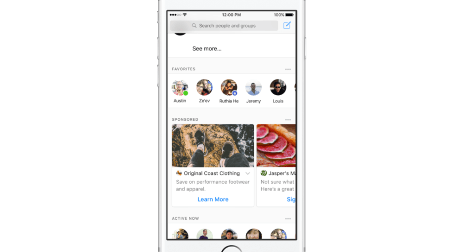 Facebook Messenger Reklam Testlerine Başladı 1