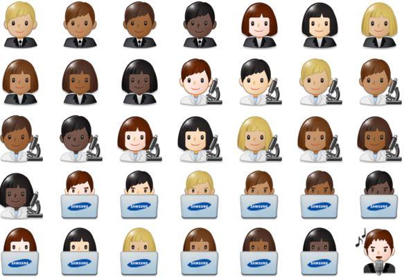 Samsung Galaxy S8 ile gelen yeni Emojiler 2