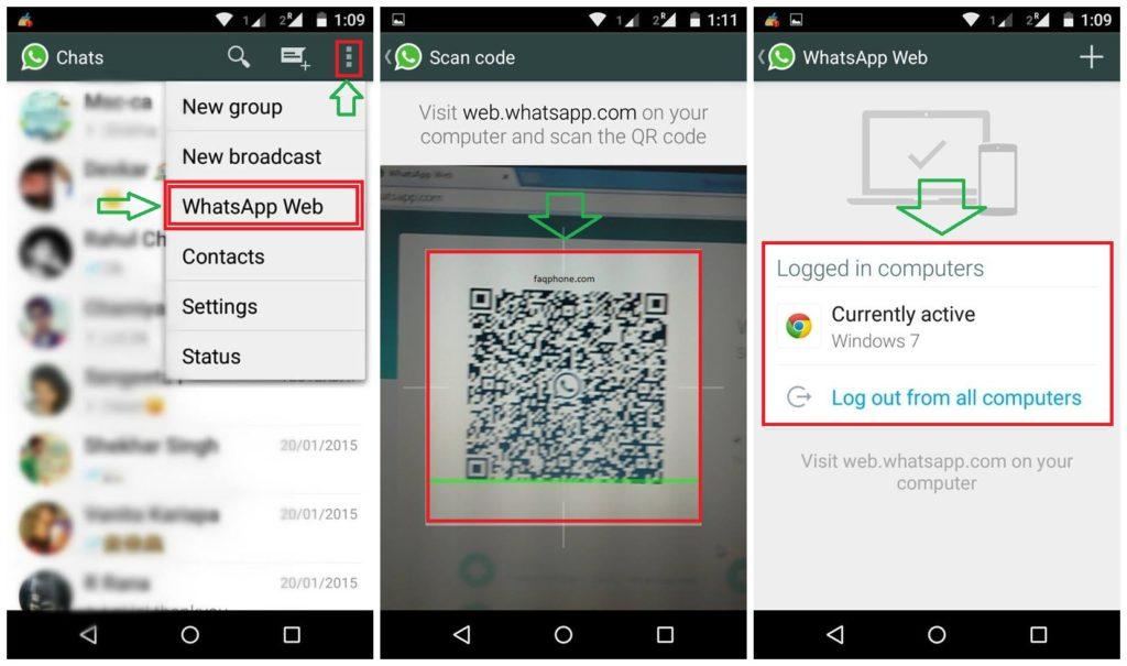 Whatsapp Web Kullanımı 12