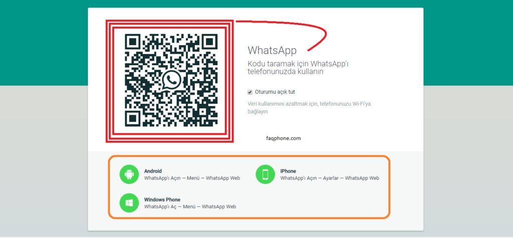 Whatsapp Web Kullanımı 14