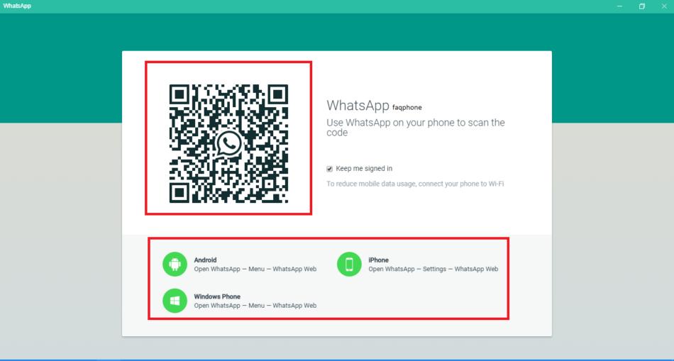 Whatsapp Web Kullanımı 11