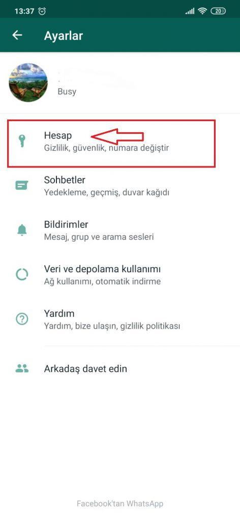 WhatsApp Parmak izi Kilidi 4