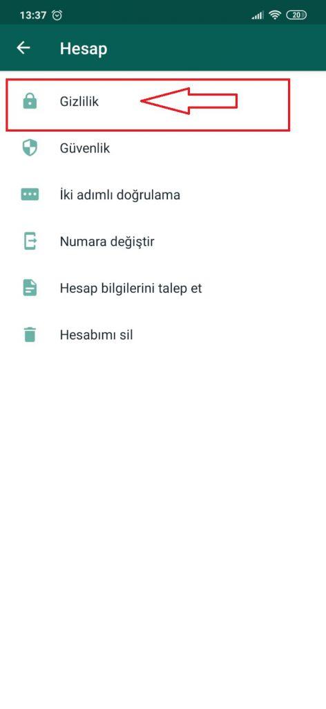 WhatsApp Parmak izi Kilidi 5